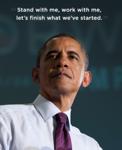 Obama, Stand with me