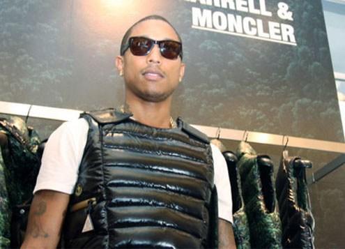 Pharrell Williams, Moncler, 2010