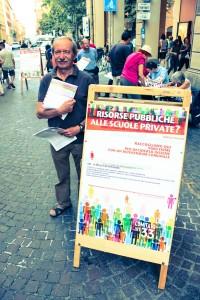 Bruno Moretto del Comitato bolognese Scuola e Costituzione