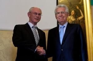 Workshop The European House - Monti e Van Rompuy