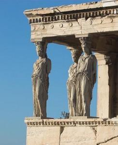 Loggia delle Cariatidi, V secolo a.C., Alcamene