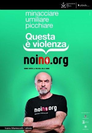 """Ivano Marescotti, testimonial della campagna """"Noi no"""""""