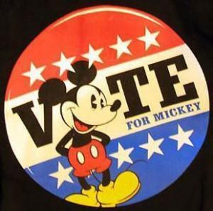 Mickey Mouse for President, 2012