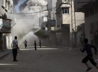 gaza-bombardamenti