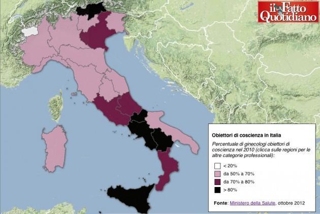 Obiettori di coscienza in Italia
