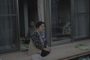 anziani tornati a Kawauchi, Giappone Fukushima