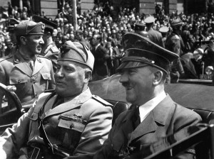 Adolf Hitler - Benito Mussolini