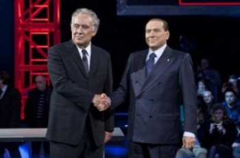 """Silvio Berlusconi ospite a """"Servizio Pubblico"""""""