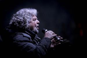Tsunami Tour, campagna elettorale di Beppe Grillo