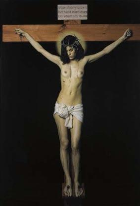 La Crista (The female Christ)