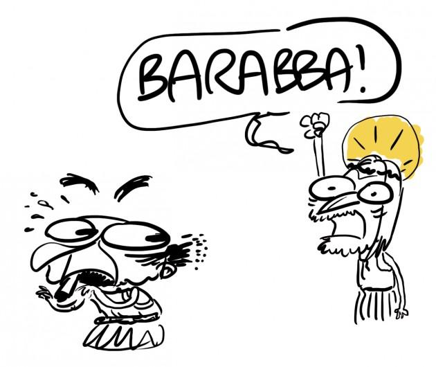 Bersani e Barabba