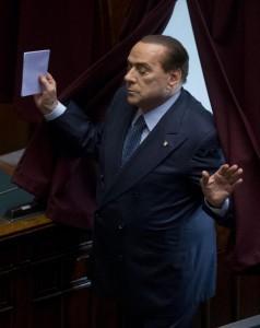 Berlusconi alla Camera - Elezione Presidente della Repubblica Italiana