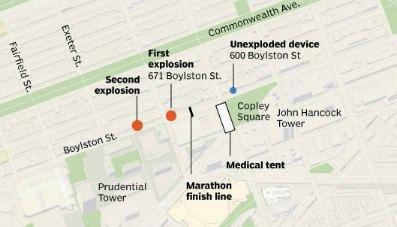 Attentato Boston, bombe alla maratona  Tre morti e oltre 140