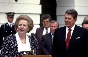 Ronald Reagan, Margaret Thatcher