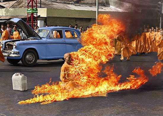 Fabio Novembre - Malcolm Browne's, Tibetan Monk, 1963