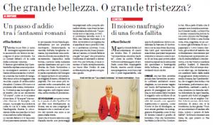 La grande bellezza - Battistini vs Delbecchi
