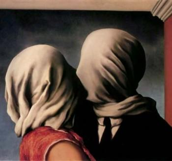 René Magritte, the Lovers, 1928
