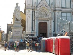 Basilica di Santa Croce - gabinetti chimici