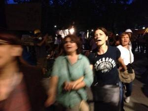 Istanbul, manifestazione mamme piazza Taksim