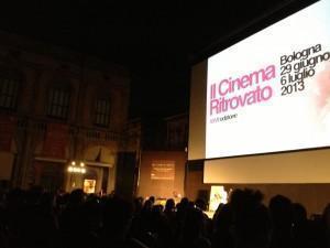 Cinema Ritrovato Bologna