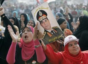 Egitto proteste donne