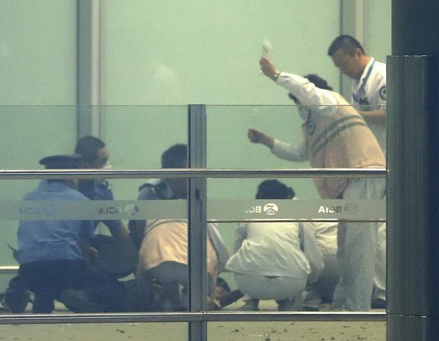 Pechino, forte espolosione all'aeroporto
