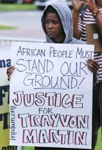 trayvon martin manifestazione