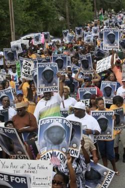 trayvon-martin proteste Usa