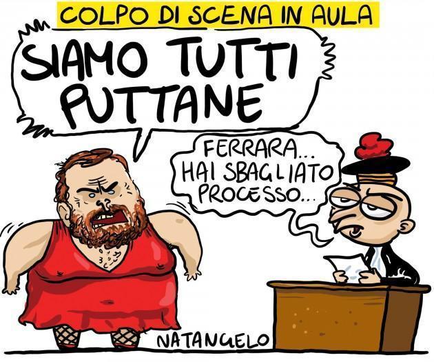 Natangelo: Sentenza Mediaset - Ferrara