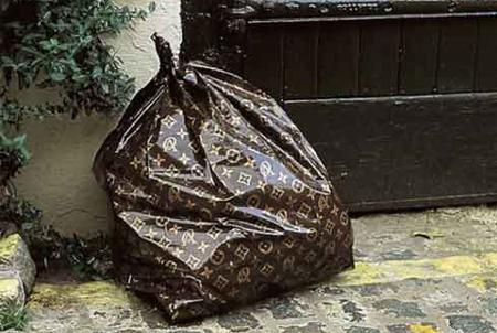 Louis Vuitton trash bag, 2008