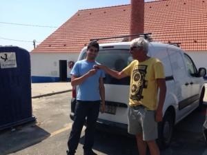 Rabmobile: il passaggio delle chiavi