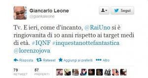 giancarlo-leone-tweet