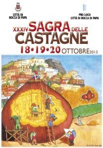 Tempo di castagne, 34esima edizione della sagra a Rocca di ...