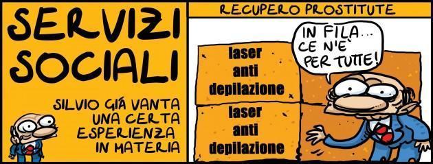 servizi sociali Berlusconi - Natangelo