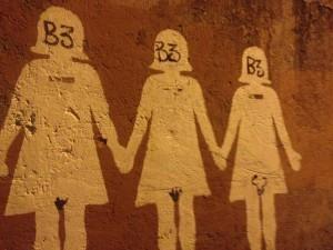 Murales San Lorenzo - donne