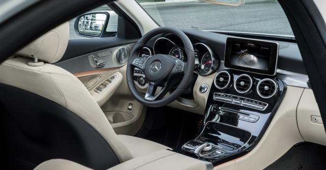 Mercedes Classe C interni