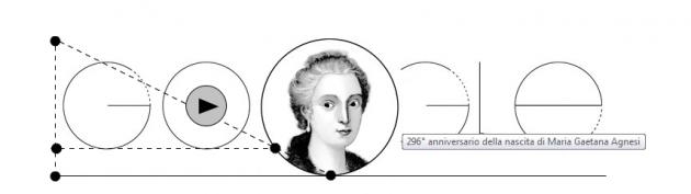 doodle-google- Maria Gaetana Agnesi