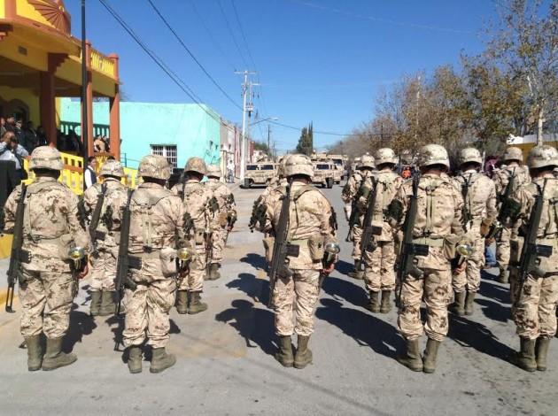 esercito-giorno del soldato Messico