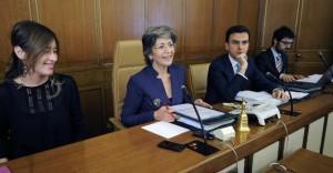 Maria Elena Boschi e Anna Finocchiaro