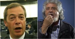 Grillo e Farage