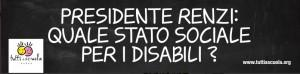 Disabili-Napoli-Renzi