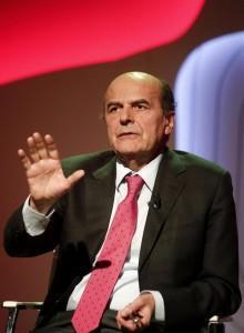 Pierluigi Bersani ospite della trasmissione televisiva Bersaglio Mobile
