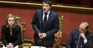 Mogherini, Alfano e Lupi