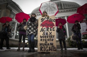 Canada, manifestazione per i diritti delle prostitute
