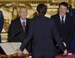 Italia nuovo governo - Renzi-Franceschini