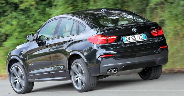 BMW X4 prova