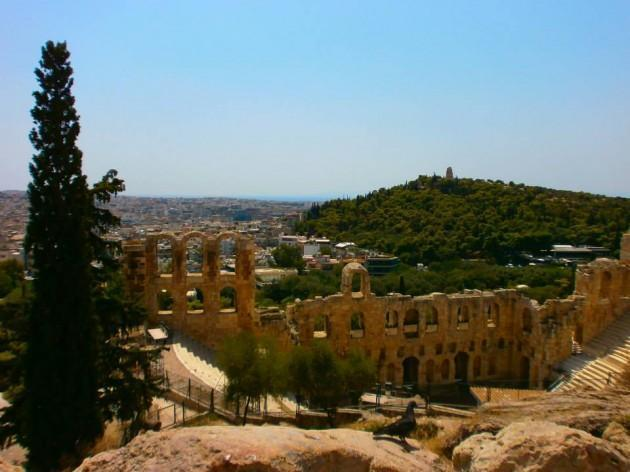Interrail-Atene