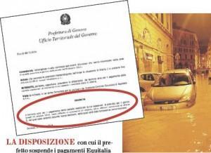 Disposizione prefetture Genova